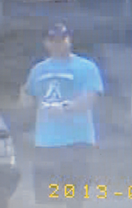 TERRY'S COUNTRY STORE SUSPECT SEPT. 13, 2013